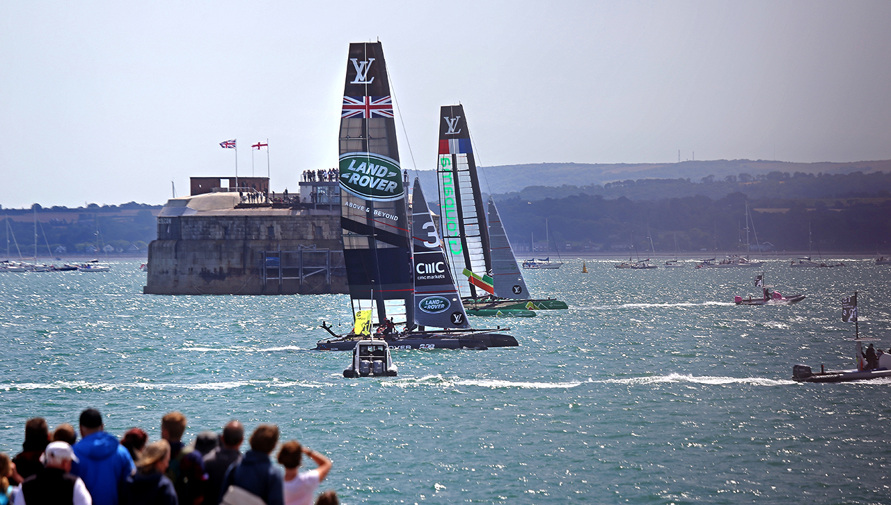 Americas Cup world Series Portsmouth 25-7-2015